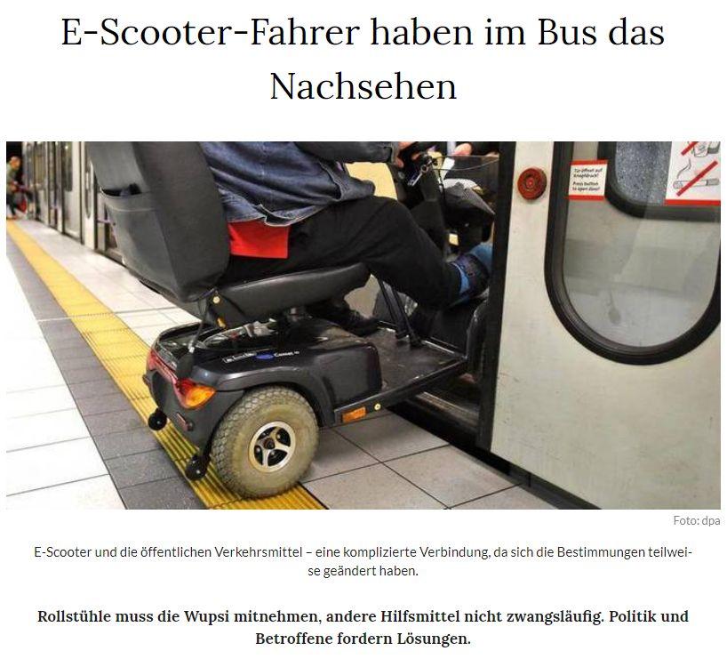 Ist der ÖPNV in Leverkusen barrierefrei? - ©-Foto dpa