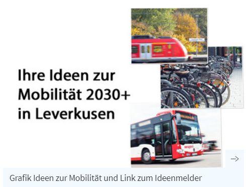 Ihre Ideen zur Mobilität 2030+ in Leverkusen ©-Foto Planersocietät / Stadt Leverkusen